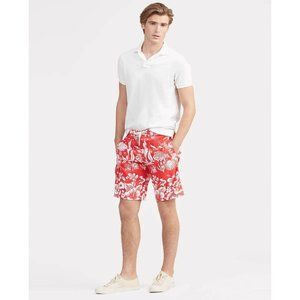 PacSun Floral Board Swim Shorts Red 31